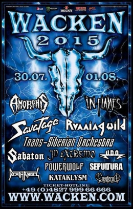 Wacken Open Air Metal Festival 2015